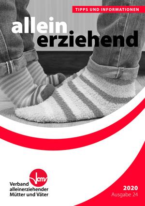 """Ratgeber """"Allein erziehend – Tipps und Informationen"""", 24. Auflage"""